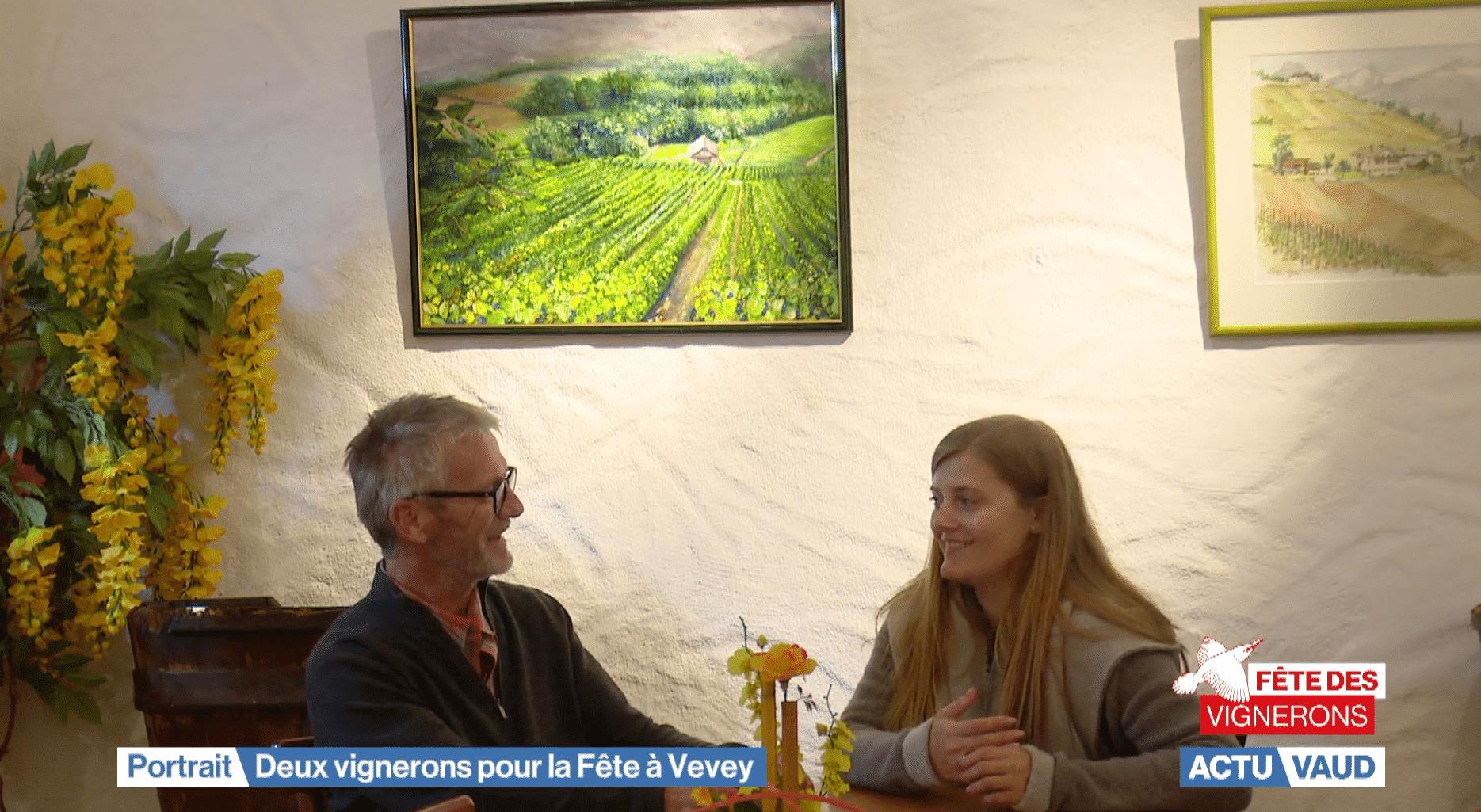 Emile et Laurine Blum participent à la Fête des Vignerons 2019